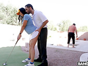 Slutty Wife Rachel Starr Is Cheating On Her Husband With Young Golf Coach