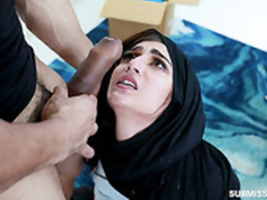 Seductive Arab Babe Jezebeth Is Fucked In Her Yummy Puffy Pussy