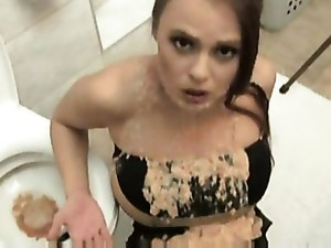 Chick Is Face Fucked Until She Vomits